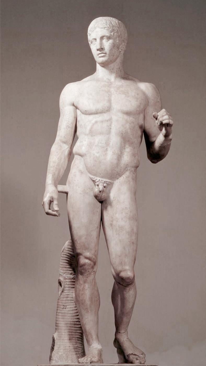 doríforo - escultura de policleto