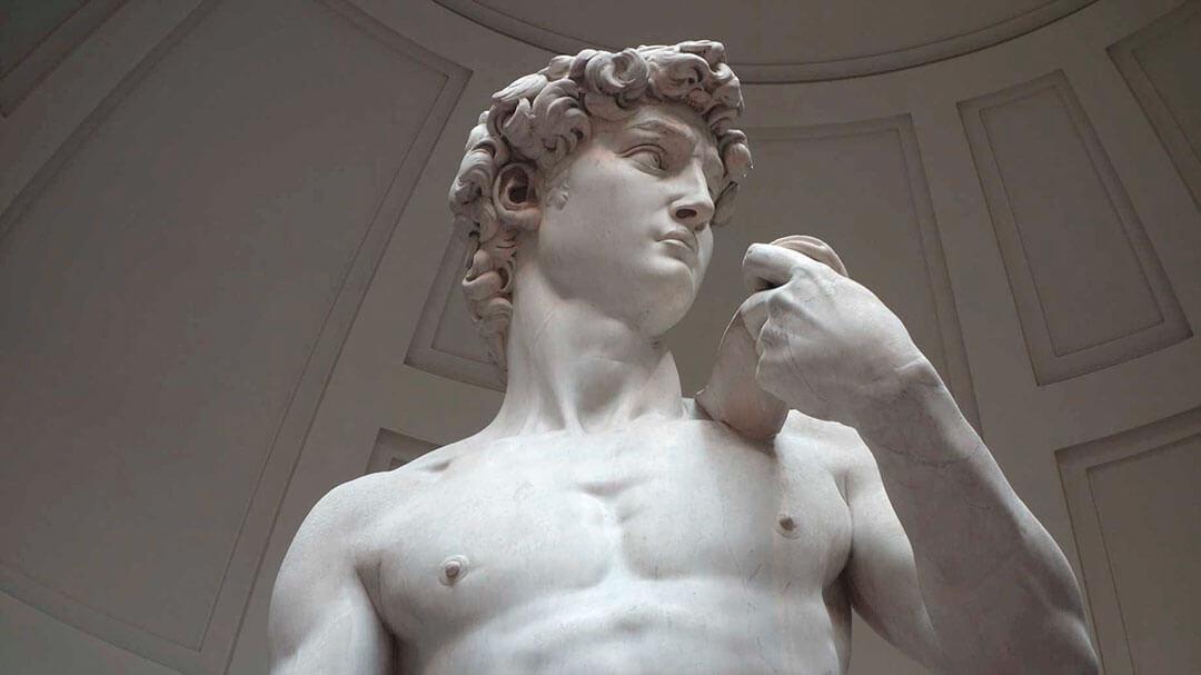 el david escultura