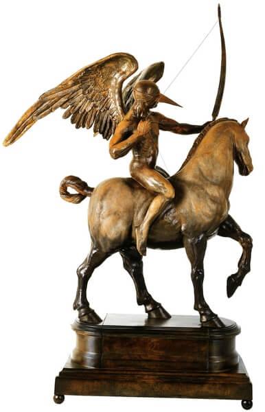 Flechador Ecuestre II-Escultura de Jorge Marín