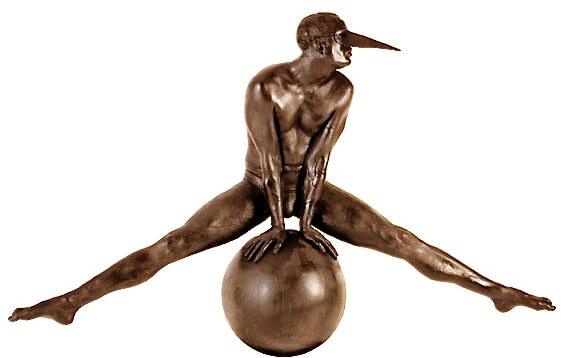 Split Monumental-Escultura de Jorge Marín