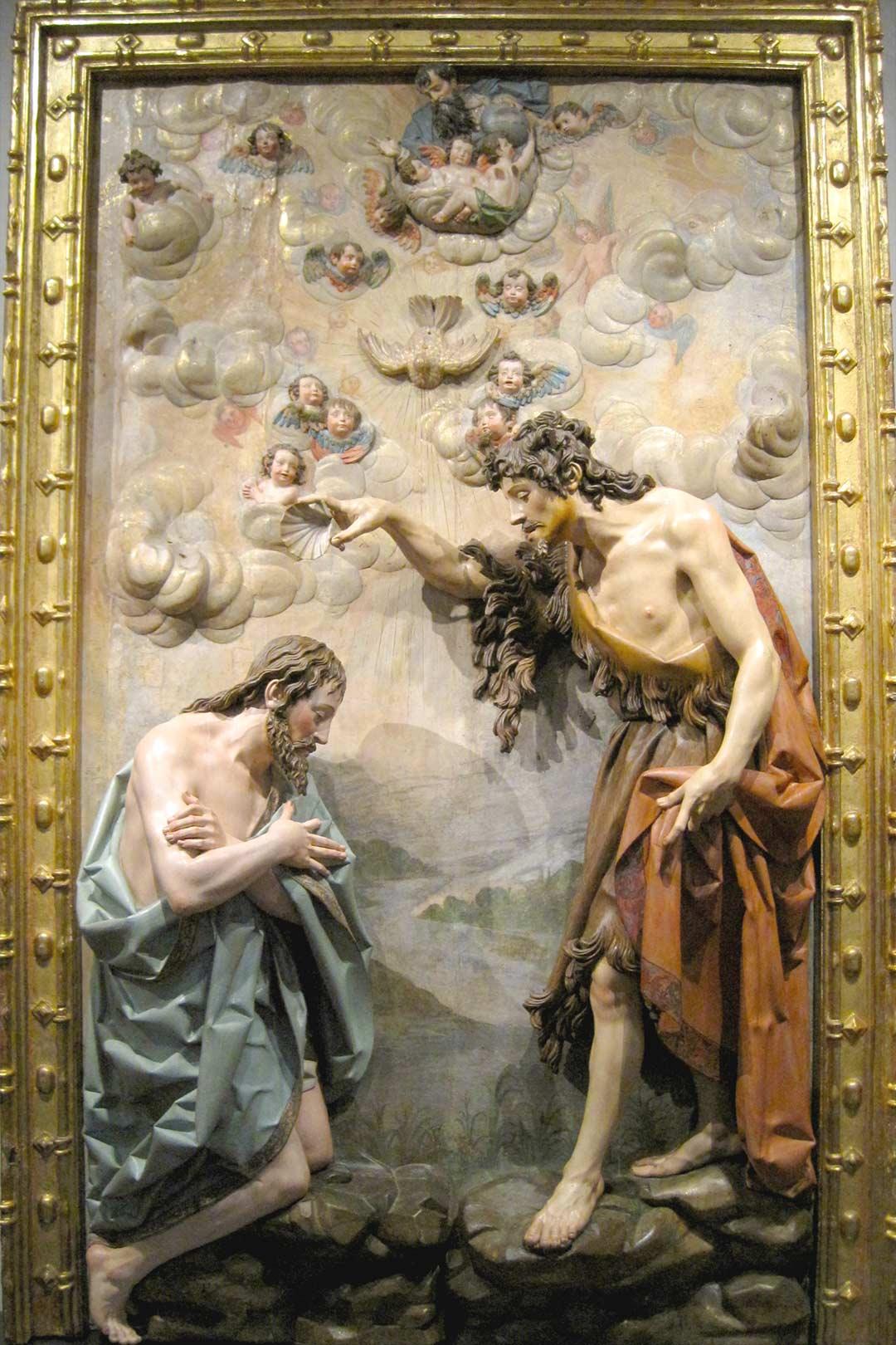 bautismo de cristo-gregorio fernandez