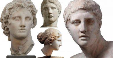escultores griegos