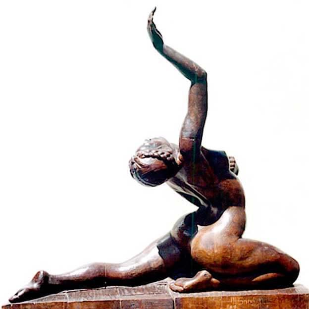 Danzarina escultura