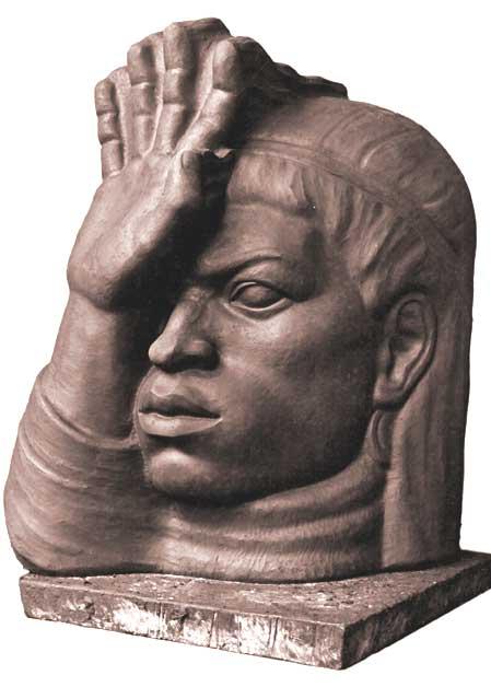 El Viento escultura