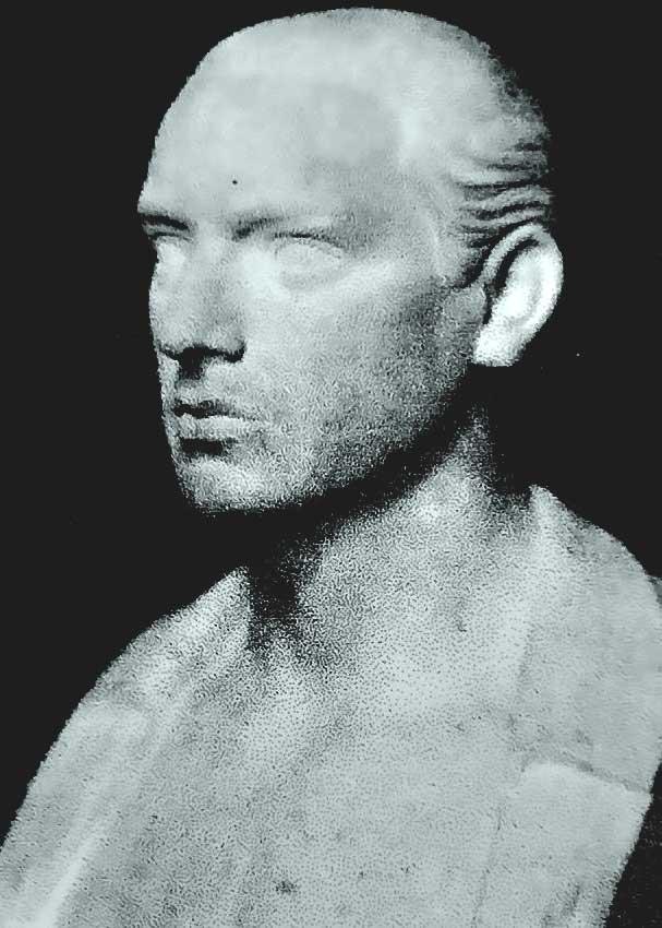 retrato escultura