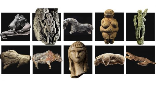 escultura prehistorica