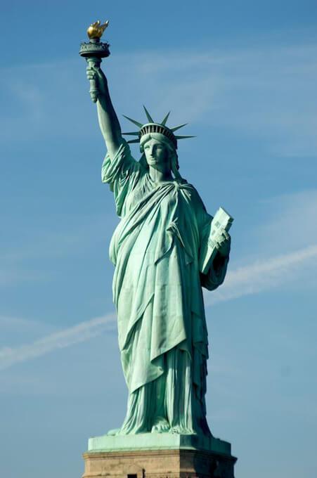 Estatua de la Libertad Frederic Auguste Bartholdi