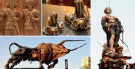 tipos de esculturas
